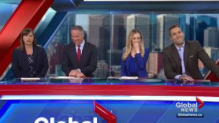 Global Calgary's Jordan Witzel busted for saying his wife isn't getting Mother's Day present - Video Youtube