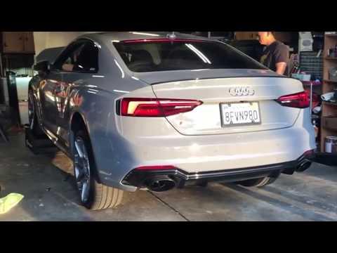 Audi RS5 F5 RS4 8W B9 2.9 TFSI HEATSHIELD DOWNPIPES
