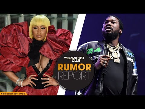 nicki minaj fires shots at meek mill during concert