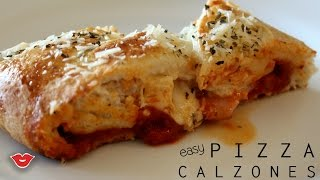 Easy Pizza Calzones! | Stephanie from Millennial Moms