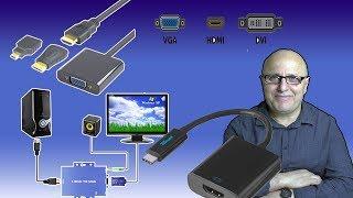VGA-HDMI-HDMI-VGA-DÖNÜŞTÜRÜCÜLERVGA-TO-HDMI