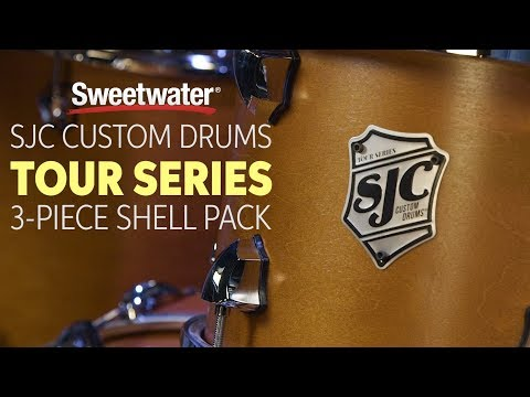 SJC Custom Drums Tour Series 3-piece Shell Pack Review