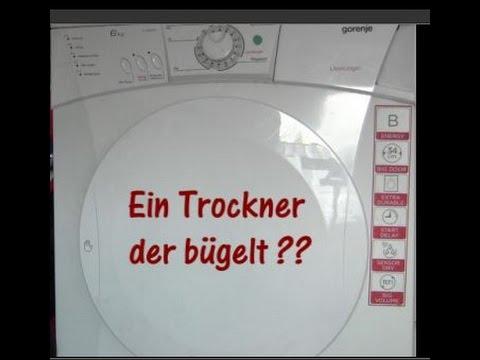 VERSUCH! Kann ein Trockner Hemden bügeln? + Stromspartipp