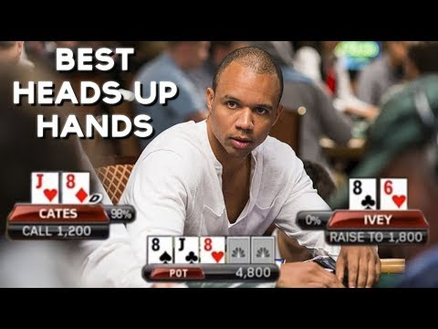 TOP 5 BEST HEADS UP POKER HANDS TELEVISED!