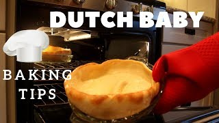 DUTCH BABY Breakfast Recipe & Tips | How To Make German Pancake