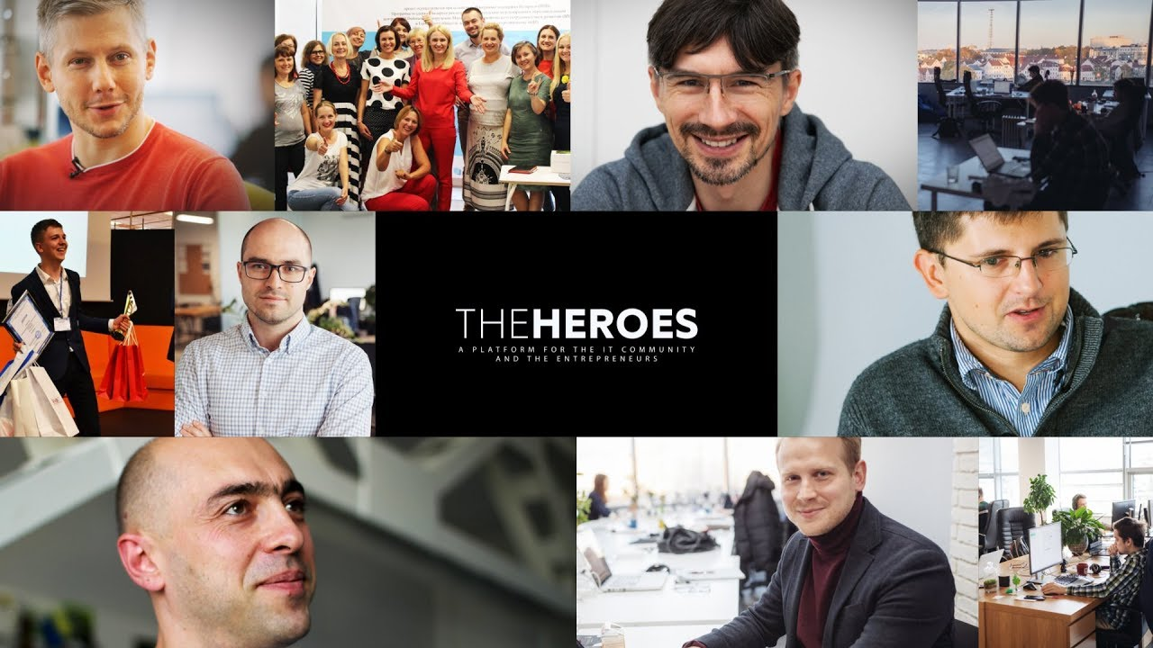 Let's get acquainted: The Heroes is a platform for IT community and entrepreneurs.