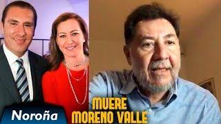Muere Moreno Valle - Noroña en Vivo