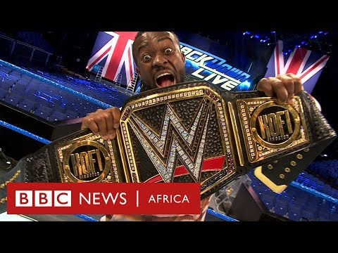 WWE Champion Kofi Kingston: 'My struggle transcends race' - BBC Africa