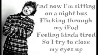 Ed Sheeran - Homeless (Lyrics)