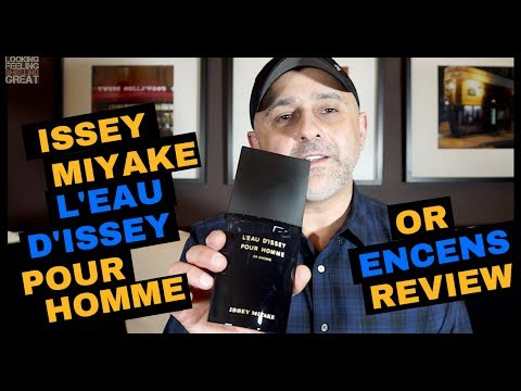 Issey Miyake L'Eau d'Issey Pour Homme Or Encens Review + Samples Giveaway