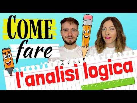 Download L'ANALISI LOGICA in italiano: Impara a distinguere Soggetto, Predicato e Complementi 🇮🇹 HD Mp4 3GP Video and MP3