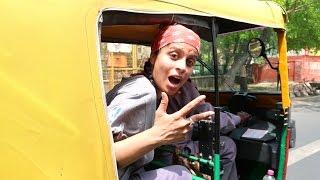 We legit just used my vlog camera as a football in Delhi traffic SO MUCH FUN