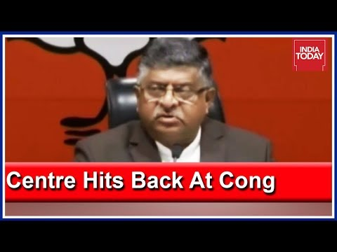 Congress Exposed, Trying To Weaken Morale Of Country & Army: Ravi Shankar Prasad | Press Conference