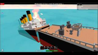 Roblox: Completely Sink The Titanic - Secret