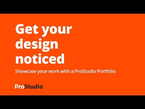 How to create a designer portf