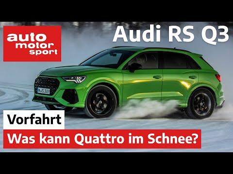 Audi RS Q3 2.5 TFSI (2020): Was kann der Quattro? – Review/Fahrbericht | auto motor & sport