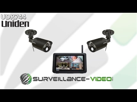 Uniden UDR744 Wireless System Overview from Surveillance-Video.Com
