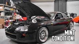 Stock Toyota Supra gets a Single Turbo!