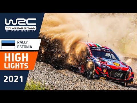 WRC 2021 第7戦ラリー・エストニア SS19-SS23のハイライト動画