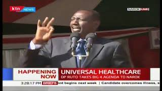 universal healthcare: DP Wiliam Ruto full speech
