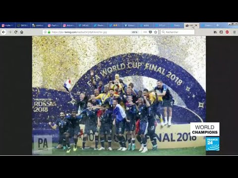 World Cup 2018: France's victory takes over social media