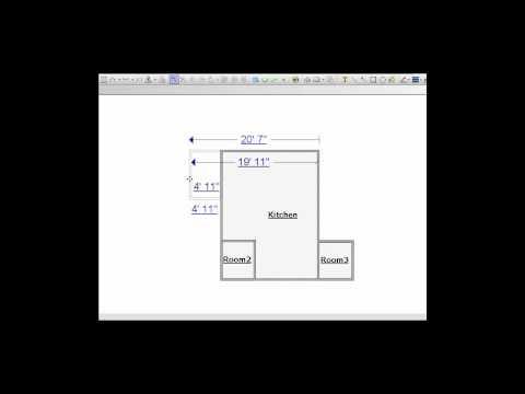 Xactimate Training Tutorial - Using the Square Break tool