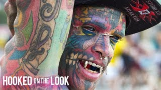 Dad With 1,000 Tattoos Inks Own Eyeballs | HOOKED ON THE LOOK