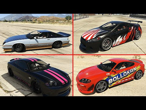 GTA 5 Online DLC Unreleased Liveries For Cars