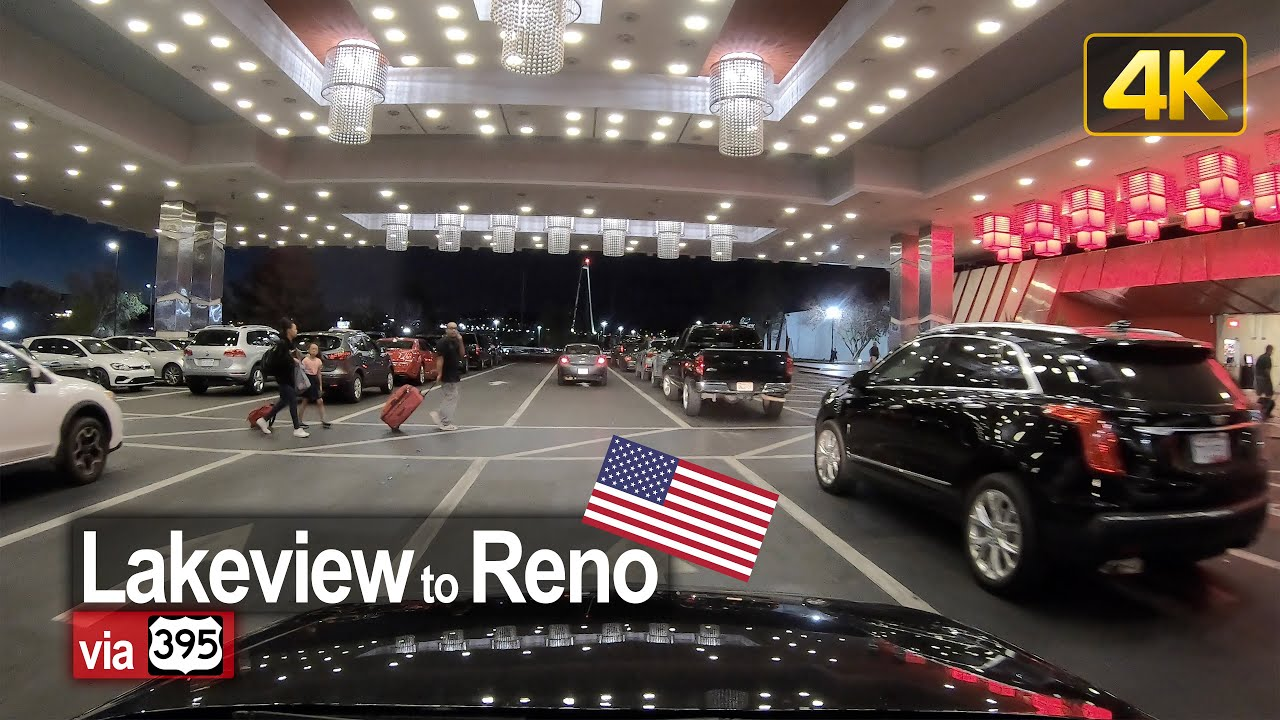 USA Road Trip – Lakeview OR to Reno NV in 4K