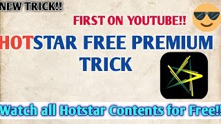 hotstar premium user id and password 2019 - Kênh video giải