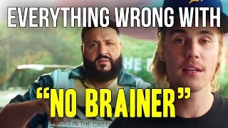 """Everything Wrong With DJ Khaled - """"No Brainer ft. Justin Bieber, Chance The Rapper, Quavo"""""""