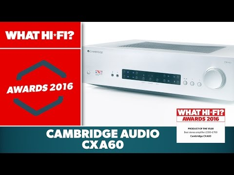 Best stereo amplifier £300-£700, 2016 – Cambridge CXA60