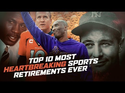 10 Most HEARTBREAKING Sports Retirements EVER