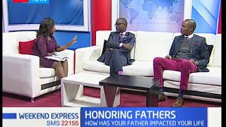 Importance of a strong relationship between a father and his children on father's day
