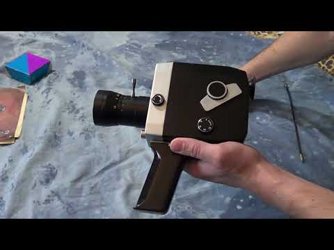 Мечта намба три, кинокамера кварц 1x8C-2 видео