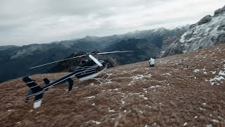 PROJET ROGER DUBUIS WINGSUIT / HELICOPTERE / FPV - DEBRIEFING TOURNAGE