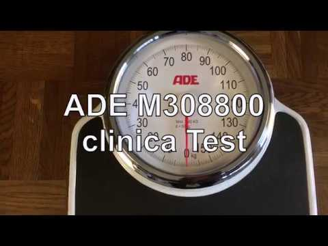 ADE M308800 clinica Personenwaage Test  - WAAGEN-TEST.DE