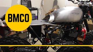 BORN Tracker 125 - Motorcycle Modification