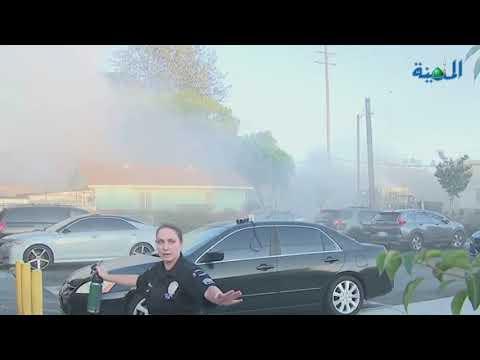 إصابة 17 شخصا في انفجار مفاجئ بلوس أنجلوس