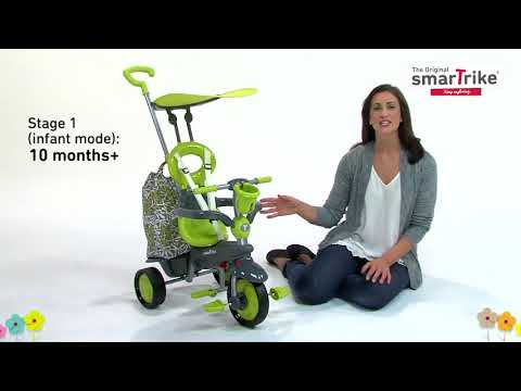 4-in-1 Baby Tricycle by smarTrike® - Groove