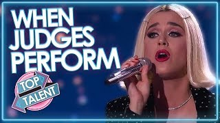 When JUDGES Perform on Got Talent, X Factor and Idols! | Top Talent