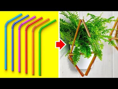 הטיפים בסרטון הזה יעזרו לך לשדרג את הבית ולהכין חפצי נוי נהדרים