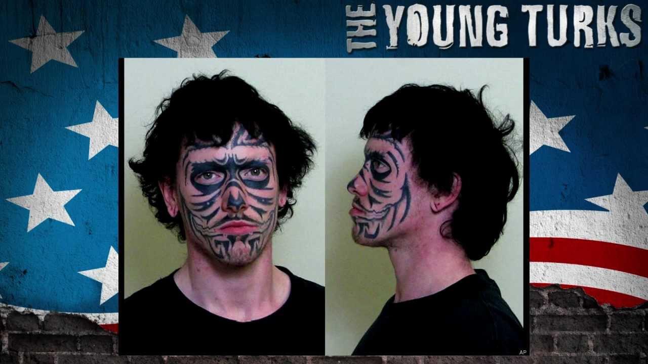 Worst Mugshot Ever? Face Tattoo Fail thumbnail