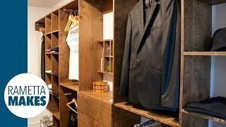 How To Build A Custom Walk-In Closet // DIY - Part 1