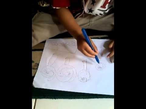 Video Anak Paling Pintar, usia 3tahun Sudah bisa Menulis