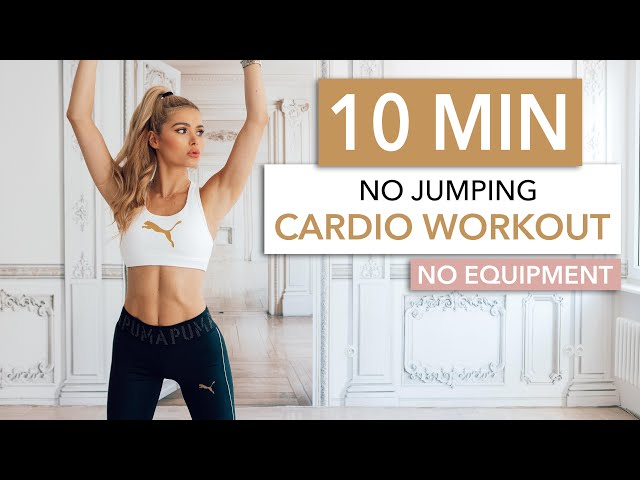 10 MIN CARDIO / No Jumping – silent & neighbor friendly / No Equipment I Pamela Reif