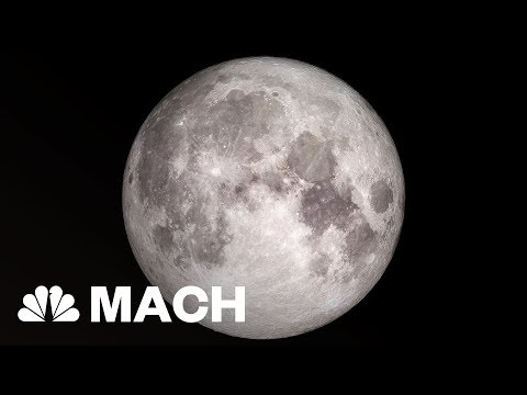 The Moon Might Be Hiding A Lot More Water Than We Thought | Mach | NBC News