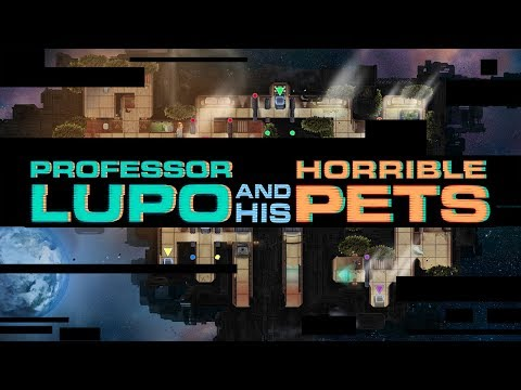 Professor Lupo and his Horrible Pets - Reveal Trailer thumbnail