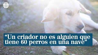 """""""Un criador no es alguien que tiene 60 perros en una nave, sin ver la luz del sol"""""""
