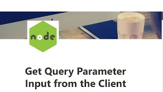 10 - Get Query Parameter Input from the Client - Basic Node and Express - freeCodeCamp Tutorial